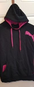 Puma scuba neck french terry hoodie